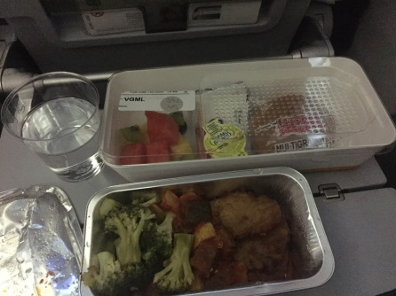 Breakfast en route to Greece