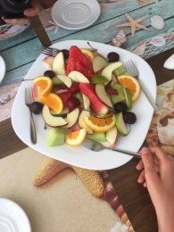 Fresh fruit in Crete